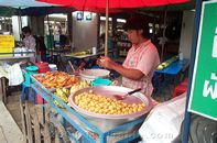 Fruit Push Cart
