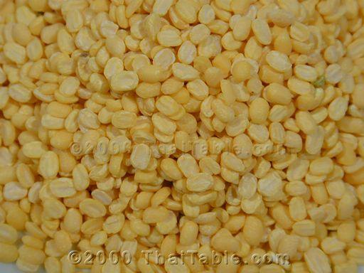 hulled mung beans