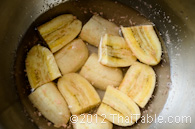 bananas in syrup step 2