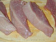 barbeque pork step 1