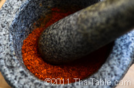 basic red curry paste step 2