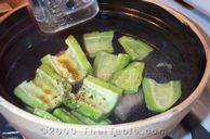 bitter melon soup in spare rib broth step 4