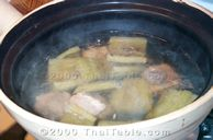 bitter melon soup in spare rib broth step 5