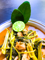 chinese water spinach curry