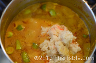 crab curry with tindora step 6