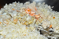 crab fried rice step 3