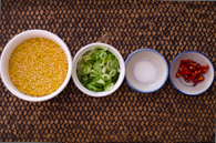 crunchy mung beans step 1