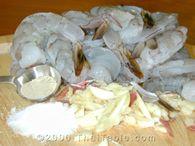 garlic shrimp step 1