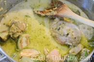 green curry with chicken step 7