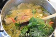 green curry with chicken step 8