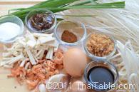 pad thai street food step 1