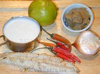 pickled fish chili sauce step 1