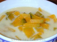 pumpkin in coconut milk