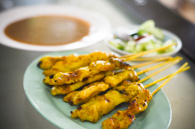 satay - modern thai version