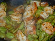 stinky beans and shrimp step 5