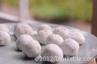 tapioca dumplings step 11