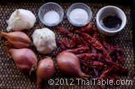 vegetarian chili paste step 1