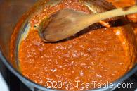 vegetarian pumpkin curry step 3