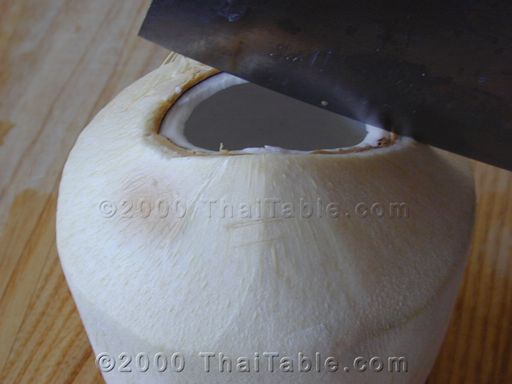 coconut juice step 3