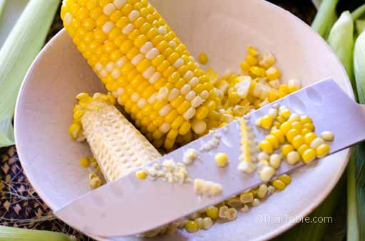 corn with shredded coconut step 3