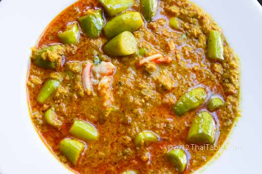 crab curry with tindora recipe