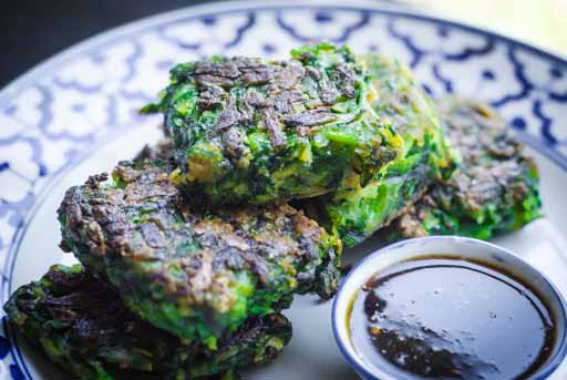 fried chinese chive cakes recipe