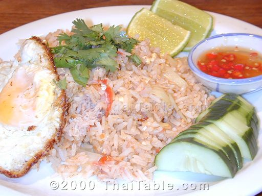 Fried Rice Recipe Thaitable Com