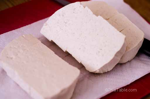 fried tofu step 1