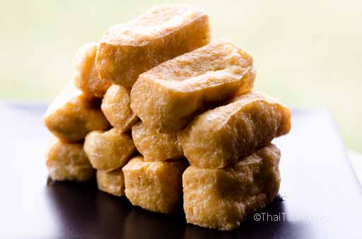 Fried Tofu Puffs 4 4 Fried Tofu Step 4