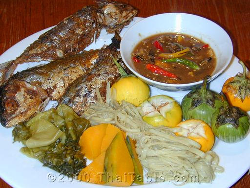 mackerel with chili sauce