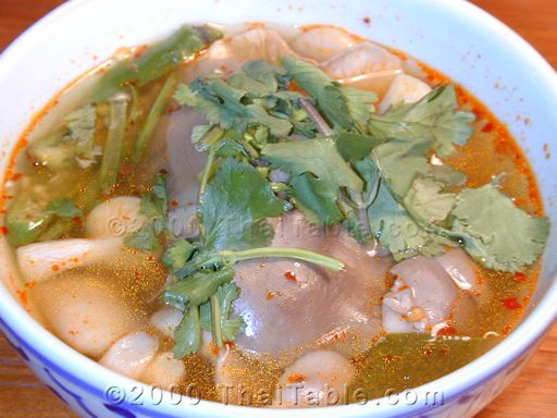 Mushroom Tom Yum Recipe Thaitable Com