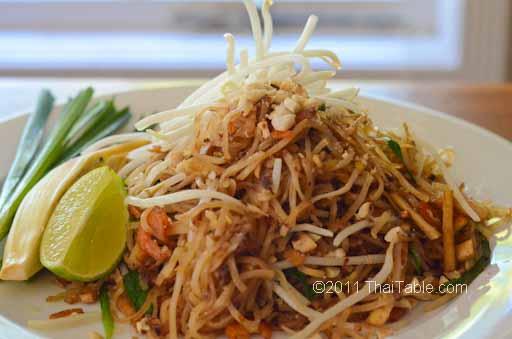 Thai Table Pad Thai Pad Thai Street Food