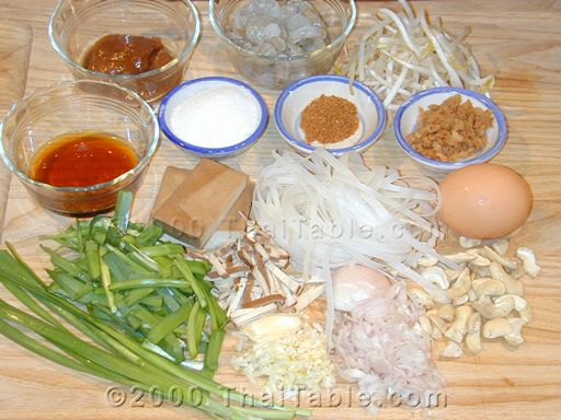 pad thai step 1
