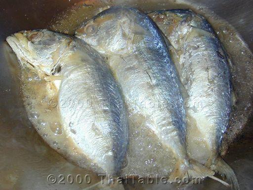 pan fried mackerel step 1