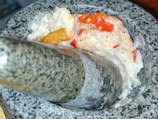 pickled fish chili sauce step 2