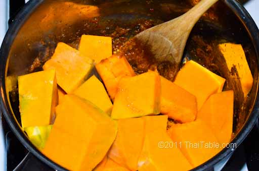 pumpkin curry step 4