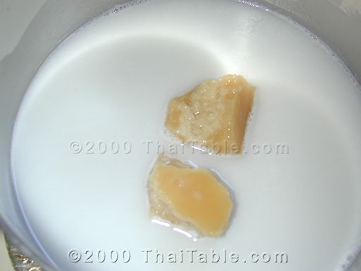 pumpkin in coconut milk step 3