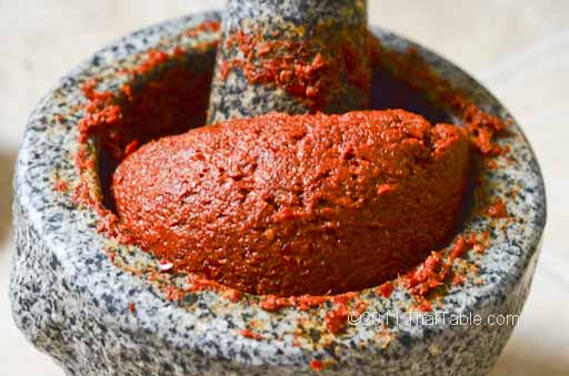 See how Red Curry Paste differs from Basic Red Curry Paste .