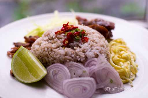 shrimp paste rice recipe