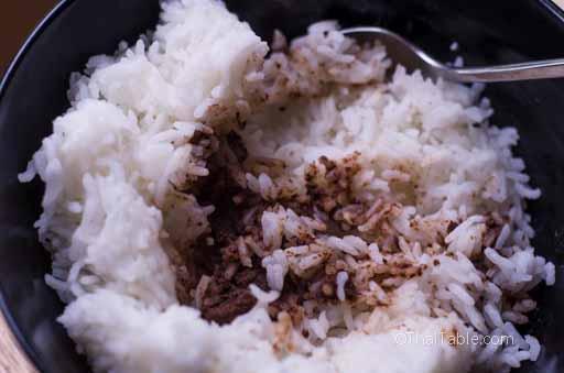 shrimp paste rice step 11