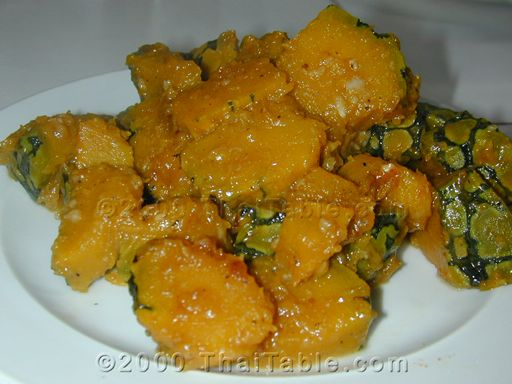 stir fried pumpkin