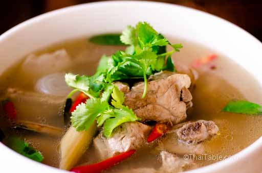 tom yum pork ribs recipe