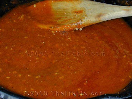 tropical yum sauce step 3
