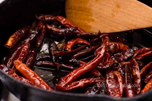vegetarian chili paste step 4
