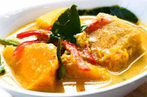 vegetarian pumpkin curry