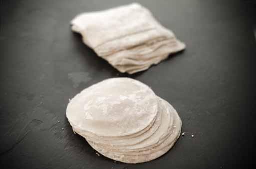 wonton wrappers recipe